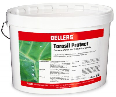 Tarosil Protect Siliconharz Fassadenfarbe weiß