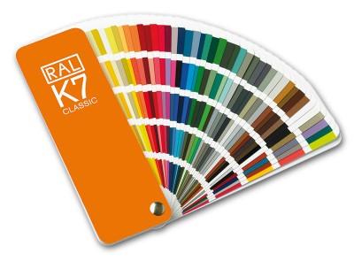 RAL- K7 Farbfächer