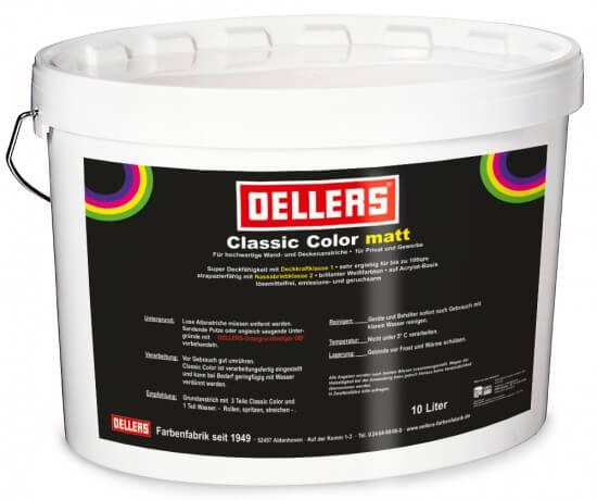 OELLERS Classic Color matt, farbig