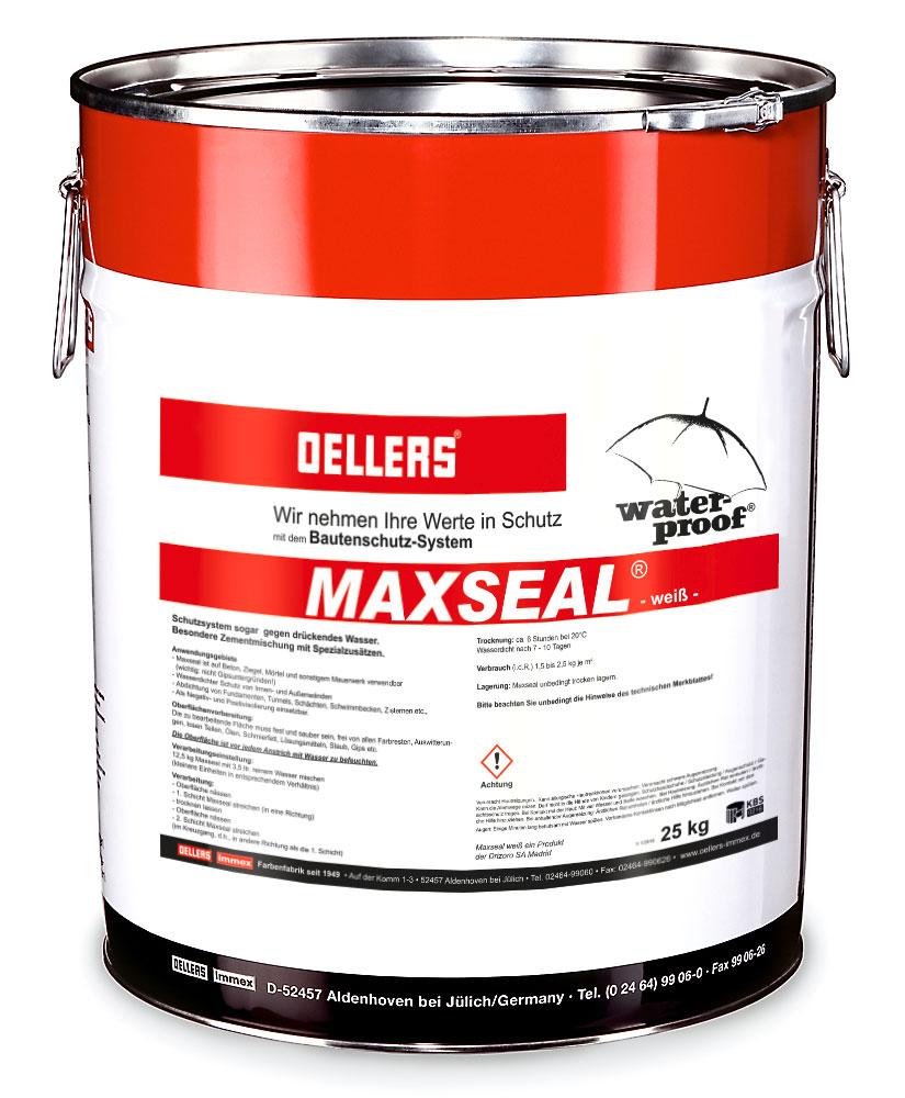 maxseal dichtet als atmungsaktive zementschl mme fl chen und fundamente aus beton zement oder. Black Bedroom Furniture Sets. Home Design Ideas