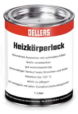 1-Liter Heizkörperlack