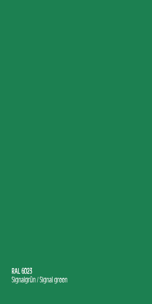 Signalgrün